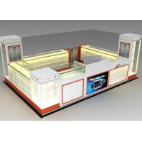Cheap Modern Style Mobile Cell Phone Accessories Kiosk With Fully - Enclosed Structure for sale