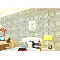 Quality Christmas Decoration 3D Living Room Wallpaper , 3D Effect Wall Panels for Theatre wholesale