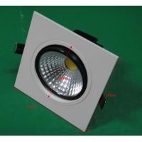 Quality Energy saving samsung Dimmable LED Downlights cob ceiling lights Ra 80 - 82 wholesale
