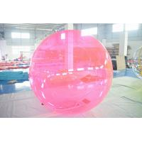 Quality PVC Inflatable Water Ball ,  Kids Or Adults Water Bubble Ball For Pool wholesale
