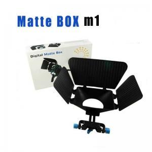 Quality Matte Box 15 mm Rail Rod Support M1 for DSLR Camera 5DIII 60D 600D T3i D800 D90 wholesale