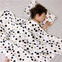 China Natural Soft Muslin Toddler Stroller Blanket , Customize Baby Blankets on sale