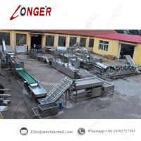 Quality Potato Chips Production Line Commercial Use Potato Chips Manufacturing Process Potato Chips Making Equipment wholesale