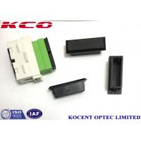Quality KCO-SCD-CAP-B ​Duplex Adapter Cap Fit SC Duplex Adapter DX SC Cap Multimode OM2 OM3 OM4 wholesale