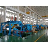 China Heavy Duty Stainless Steel Coil Cut To Length Machine Electric Control System on sale