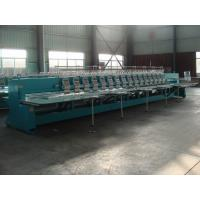 Quality High Speed Computerized Embroidery Machine With 16 Heads 12 Needles wholesale
