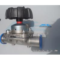 Quality Fully Stocked Sanitary 316L Stainless Steel Manual/ Pneumatic Diaphragm Valve Diaphragm Valve with Drain wholesale