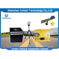 Quality Fixed Automatic Under Vehicle Inspection System 2 Years Warranty For Car Scanning wholesale