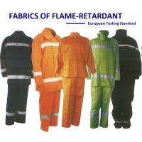 Quality Flame Retardant Neon Color Cotton Twill European Testing Standard wholesale