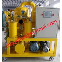 China Power transformer oil filtration equipment, dehydrating and degassing, particle removal vacuum degasfier on sale
