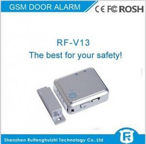 China gsm magnetic door sensor alarm, wireless door alarm lock system rf-v13 on sale
