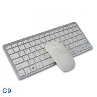 China 2.4G Wireless Mini Keyboard And Mouse Combo With Mouse Silent Key on sale