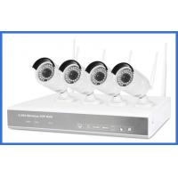 Quality 720p 4ch h.264 Wireless Nvr Kits High Resolution 1/4 Coms Sensor For Family/Store wholesale
