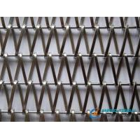 Cheap Balanced Flat Spiral Wire Weave Mesh for Architectural Decoration for sale