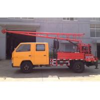 GC-150 Hydraulic Chuck Truck Mounted Drilling Rig large input power and output
