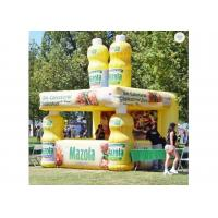 China Customized Size Inflatable Booth 210d Coated Fabric Material 3 Years Warranty on sale