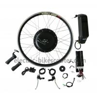 Quality Bicycle 48V 350W Rear Hub Motor Electric Bike Conversion Kits 32Km / H wholesale