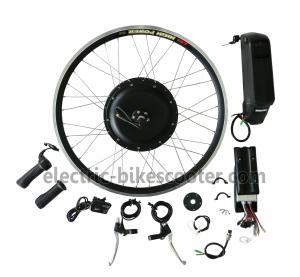 China Bicycle 48V 350W Rear Hub Motor Electric Bike Conversion Kits 32Km / H on sale