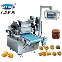 China Cookie Making Machine Wire Cut And Deposit Cookies Multi-Functional Making Machine on sale