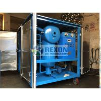 Quality Fully Enclosed Type Transformer Substation Used Dielectric Oil Purification Machine 9000LPH wholesale