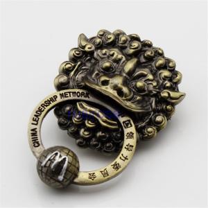 Quality Personalized custom bronze door knocker, bronze door handles custom, lion head pendant made to order wholesale