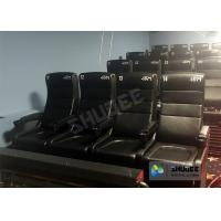 Quality Large Screen 4D Cinema System With Comfortable Pure Hand-Wrapped PU Leather Motion Seats wholesale