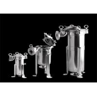 Quality Food Industrial Filter Housing , ANOW SS Bag Filter Housing High Flow Bag wholesale