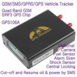 Quality GPS106 Car Auto Taxi Truck Fleet GPS GSM Tracker W/ Photo Snapshot & Online GPRS Tracking wholesale