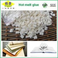 Quality Pure Milk White Quick Drying Hot Melt Glue Adhesive Granule For Bookbinding wholesale