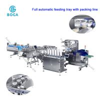 Quality Full Automatic Moon Cake Food Packaging Line / Horizontal Packing Machine wholesale