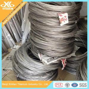China Titanium Wires AWS A5.16 ERTi 2 Dia 1.0mm on sale