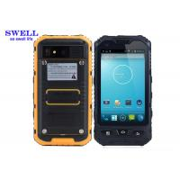 Buy cheap Android 4.2.2 Rugged IP68 Smartphone With NXP544 NFC A8  yellow Black product