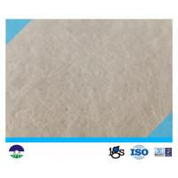 Quality 200GSM PET Needle Punched Filament Non Woven Geotextile Fabric wholesale