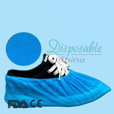 Cheap Disposable elastic PE/CPE/Non-woven shoe cover for sale