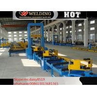 Quality VFD Spot Welding Speed Control H Beam Assembling Machine Automatic To Fix Flange And Web wholesale