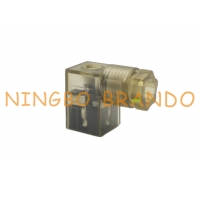 China 121023 121064 Field Attachable Internal Thread DIN 43650 Form C Solenoid Coil Connector on sale