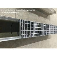 Quality Malaysia Flat Bar Steel Grate Drain Cover For Residential Area Drainage Channels wholesale