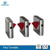 Buy cheap Automatic Pedestrian Entrance Access Control UT560-B Brushless Flap Turnstile from wholesalers