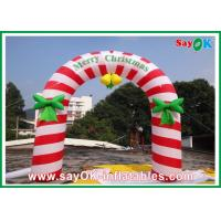 China PVC Inflatable Holiday Decorations , Party Inflatable Christmas Arch on sale