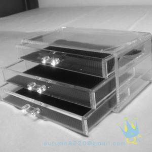 Quality clear acrylic makeup storage box wholesale