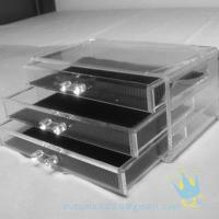 Quality clear acrylic makeup storage box wholesale
