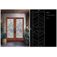 China Sliding Glass Door Hollow Stained Glass Panels Air / Argon Insulating on sale