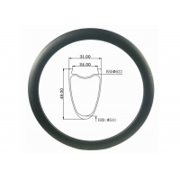 Buy cheap Tubeless Cyclocross All Road 31MM Width 49MM Height Gravel Carbon Bicycle Rim from wholesalers