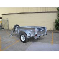 China Custom 7X4 Galvanised Off Road Trailer , Off Road ATV Trailer With Heavy Duty Axle on sale