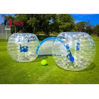Quality Customize Inflatable Zorb Ball / Bubble Football Bumper Human Hamster Ball OEM Accepted wholesale