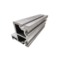 China Accuracy 0.05mm Brushed Aluminum Extrusion Profile on sale