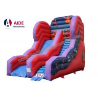 Cheap Inflatable Slide For Pool Inflatable Sports Equipment Rainbow PVC Customized for sale