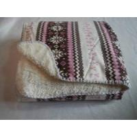 Quality Printed Sherpa Throw wholesale