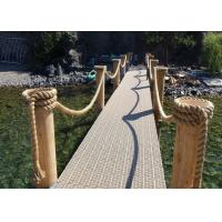 Quality 100Ft X 6mm Multipurpose 3-strand twist Rope code line Ideal For Garden Outdoor Use wholesale