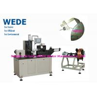 Quality 3kw Flat Wire Winding Machine With Insulation Paper Inserting Machine wholesale